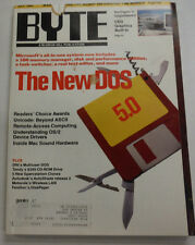 Byte Magazine The New DOS 5.0 July 1991 111314R
