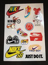 12 Nike Skateboard Longboard Vintage Vinyl Sticker Laptop Luggage Car Decals