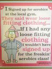 Aerobics Class.... Aunt Acid
