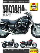 Yamaha V - Max VMX1200 VMax 1985-2003 Haynes Manuel 4072 NEUF
