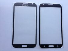 Samsung Note 2 N7100 N7105 LTE Front Glas Scheibe Display Glasschirm Grau Grey