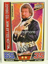 """Slam Attax superestrellas - #132 """"millón de dólares Man"""" Ted DiBiase"""