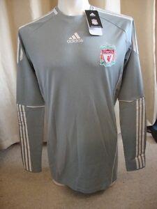 Liverpool Player Issue Techfit Sponsorless Home Goalkeeper Shirt  BNWT (XL)