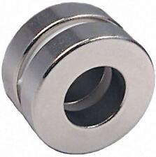2 Neodymium Magnets 1 x 1/2 x 1/4 inch Ring N48