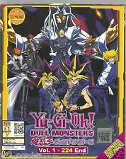 Yu Gi Oh! Duel Monster (1-224) Complete Series + Movie Anime DVD