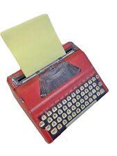 Typewriter Cardboard Notepad Holder Dispenser Writing Novelty Gift Nnt