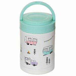 Caravan Reusable Stainless Hot & Cold Thermal Insulated Lunch Pot 5OOML