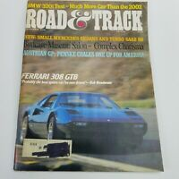 Vintage Road & Track Car Automobile Magazine December 1976 Ferrari 308 GTB