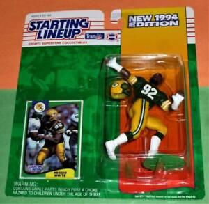 1994 REGGIE WHITE 1st Green Bay Packers NM+ #92 * FREE s/h * Starting Lineup HOF