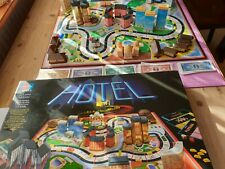 Brettspiele, Gesellschaftsspiele ,Hotel, Strategiespiel Schwarze Ausgabe 1986
