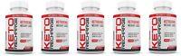Keto Pills Diet BHB Salts Exogenous Ketones MCT Apple Cider Fat Burner 5 Pack