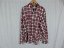 Denim & Supply Ralph Lauren Men's Plaid Button Down Shirt Regular Fit Size 2XL