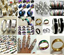 500 X Mix Desgin Resale Men Women Stainless Steel Ring Wholesale Jewelry