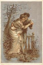 """Advertising """"Card"""" Allen's Root Beer Extract CE Carter Pharmacy Lowell MA c1880s"""