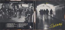 SUBWAY - Dangerous games CD rare Swiss Hard Rock