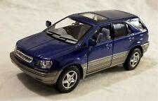 Kinsmart - 1:36 Scale Model Lexus RX300 Blue (BBKT5040DBL)