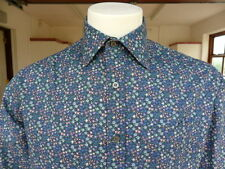 "Paul Smith ""London"" Stunningly Beautiful Liberty Print Shirt Size 15.5"" Medium"