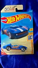 Hot Wheels Corvette Grand Sport Roadster Hw 50 Race Team Series #3/10 Die-Cast