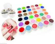 36 Colors Pure Shiny Extension Nail Art UV Gel Builder Tips Glue Manicure Decor