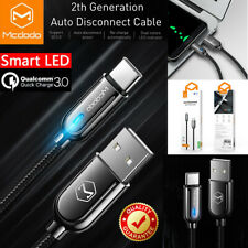 Auto Disconnect Usb Type C Fast Charging Cable For Samsung Note 20 S21 S20 S10