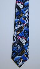 Star Wars Men's Vintage Movie Poster Tie Print Necktie Blue Black Fan Men's Gift