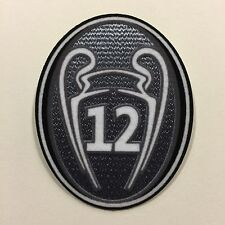 UEFA Champions League - 12 CUP patch - El Doceavo - Real Madrid