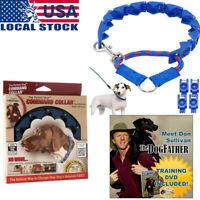 Don Sullivan Perfect Dog Command Collar Training Pets Prong Choke W/ dvd