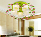 * New White Width 80CM E27*5 Glass Creative Ceiling Fixtures Lamp Light Lighting
