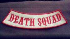 Side Rocker Death Squad,  Support 81 Red & White 1%er Support Hells Angels MC