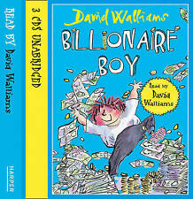 Billionaire Boy by David Walliams (3CD-Audiobook, 2011) read by Author