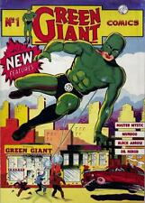 Green Giant Comics #1 Photocopy Comic Book