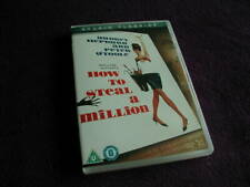 HOW TO STEAL A MILLION ,DVD , AUDREY HEPBURN, PETER O'TOOLE