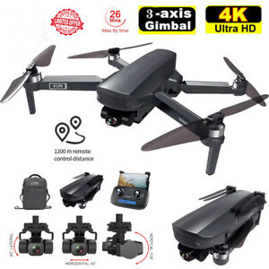 Three-Axis Gimbal Drone 4K Camera Professional 5G GPS WIFI FPV RC Quadcopter
