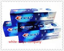 3 X Crest3D Blanc Luxe Diamant Brillant Menthe Dentifrice Blanchissant 3.5oz