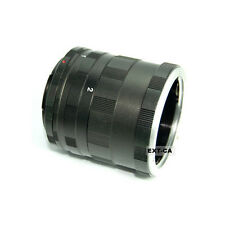 Tubes Extension Macro pour Monture Canon EOS DSLR SLR