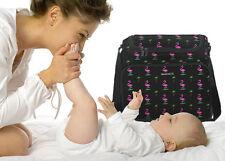 Pink Flamingo DIAPER BAG UNIQUE Baby Shower Gift Idea! FEATURE LOADED! CUTE