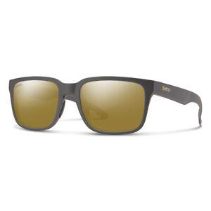 Smith Headliner Matte Gravy Sunglasses w/ CP Polarized Bronze Mirror Lens