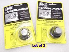 2-Lot 10-A HKS Speed Loader for S&W 38/357 K Frame 10 15 19 64 66 TAURUS 80 82