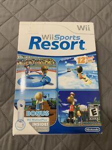 Wii Sports Resort Bundle with Wii MotionPlus Nintendo Wii, 2009 Brand New!