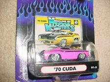 MUSCLE MACHINES '70 CUDA 01-2 HOT PINK MIP FREE USA SHIPPING