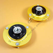 BMW E46 3-Series CAMBER COILOVER TOP MOUNTS FRONT CAMBER PLATES PAIR +/-3 B
