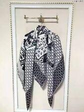 Womens Muffler Kerchief 100% Silk Pashmina Scarves Shawl Wrap Scarf 140*140CM D0