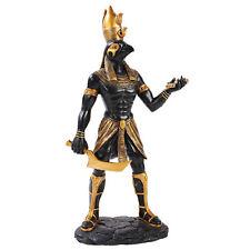 Egyptian Mythology Warrior Horus Statue God of The Sky And War Figurine
