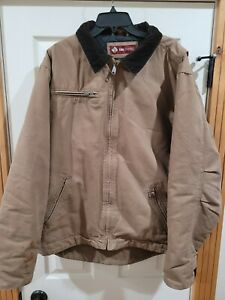 DRI DUCK Outlaw Quilted Lined Work Jacket Men's Sz XLT Brown