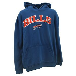 Buffalo Bills Kids Youth Size NFL Official Hooded Sweatshirt New With Tags