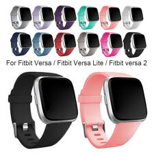 Replacement Silicone Band Strap Wristband For Fitbit Versa Lite 2 1 Watch Bands