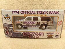 New 1994 Brookfield 1:25 Diecast NASCAR Brickyard 400 Chevrolet Suburban Truck
