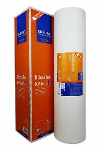 1x Erfurt KlimaTec KV 600 Pro 15x1m Thermovlies 4 mm Innendämmung