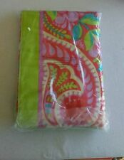 VERA BRADLEY BEACH TOWEL AND FLIP FLOPS PAISLEY IN PARADISE - 2 PIECE SET - NWT