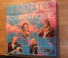 Coffret 8 LP+1 bonus Sérénades Romantiques Clayderman Zamfir Zacharias Borelly